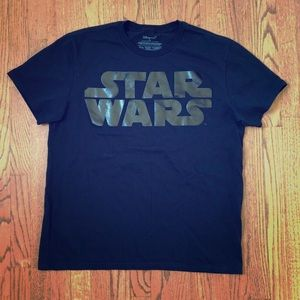 Star Wars XL TShirt by Disney Black On Black